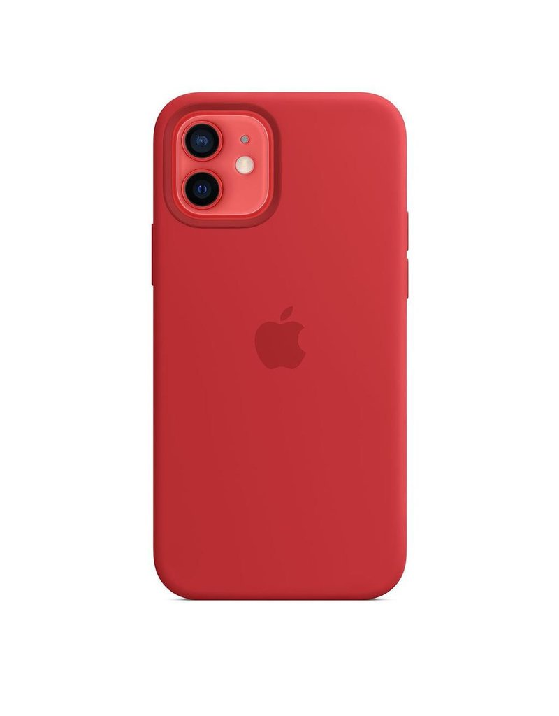 Apple Apple iPhone 12 | 12 Pro Silicone Case with MagSafe - (PRODUCT)RED