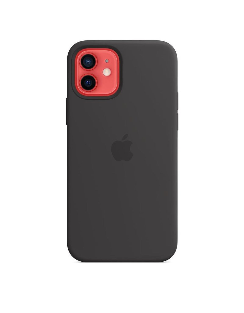 Apple Apple iPhone 12 | 12 Pro Silicone Case with MagSafe - Black