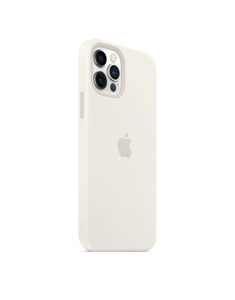 Apple Apple iPhone 12 | 12 Pro Silicone Case with MagSafe - White