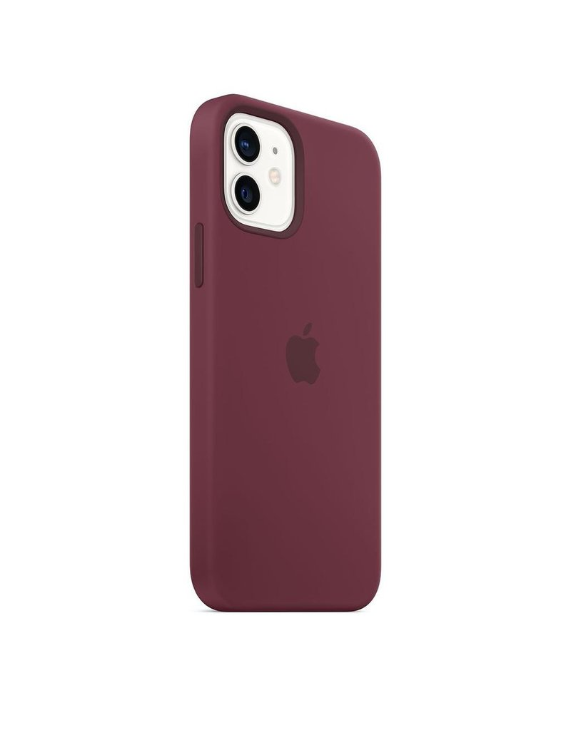 Apple Apple iPhone 12 | 12 Pro Silicone Case with MagSafe - Plum