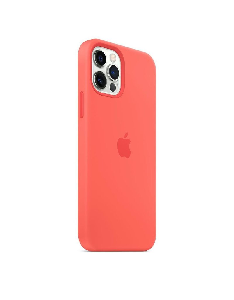 Apple Apple iPhone 12 | 12 Pro Silicone Case with MagSafe - Pink Citrus