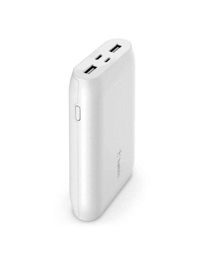 Belkin Belkin BoostCharge 10k Multi Port Power Bank (15W USB-C) - White