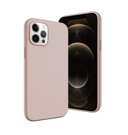 SwitchEasy SwitchEasy Skin Silicone Case for iPhone 12 Pro Max - Pink Sand