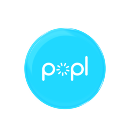 Popl Popl Digital Business Card/Social Media Share Divice - Blue