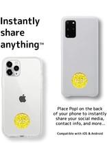 Popl Popl Digital Business Card+Social Media Share NFC Tag Divice - Gold