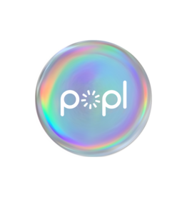 Popl Popl Digital Business Card+Social Media Share NFC Tag Divice - Prism
