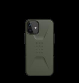 UAG Urban Armor Gear (UAG) Civilian Series Case for iPhone 12 Mini - Olive