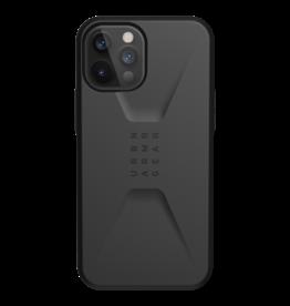 UAG Urban Armor Gear (UAG) Civilian Series Case for iPhone 12 Pro Max - Black
