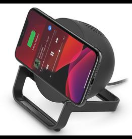 Belkin Belkin Boost Up Charge Wireless Charging Stand 10W with Bluetooth Speaker - Black