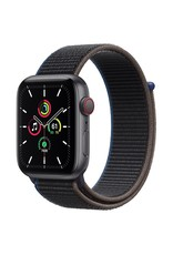 Apple Apple Watch SE GPS + Cellular, 44mm Space Gray Aluminium Case with Charcoal Sport Loop