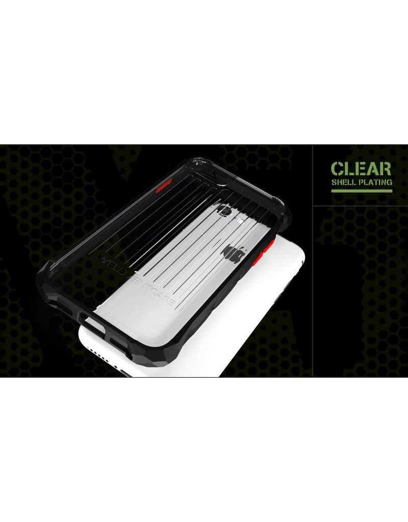 Element Element Case Special Ops Case for iPhone 12 Pro Max - Clear and Black