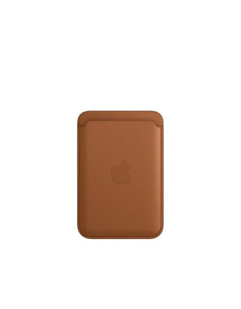 Apple Apple iPhone Leather Wallet with MagSafe - Saddle Brown