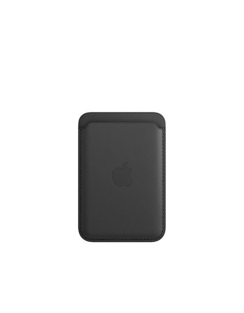 Apple Apple iPhone Leather Wallet with MagSafe - Black