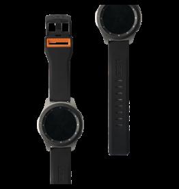 UAG Urban Armor Gear (UAG) Civilian Watchband for Samsung Galaxy Watch 46mm - Black and Orange