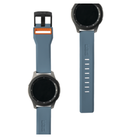 UAG Urban Armor Gear (UAG) Civilian Watchband for Samsung Galaxy Watch 46mm - Slate and Orange