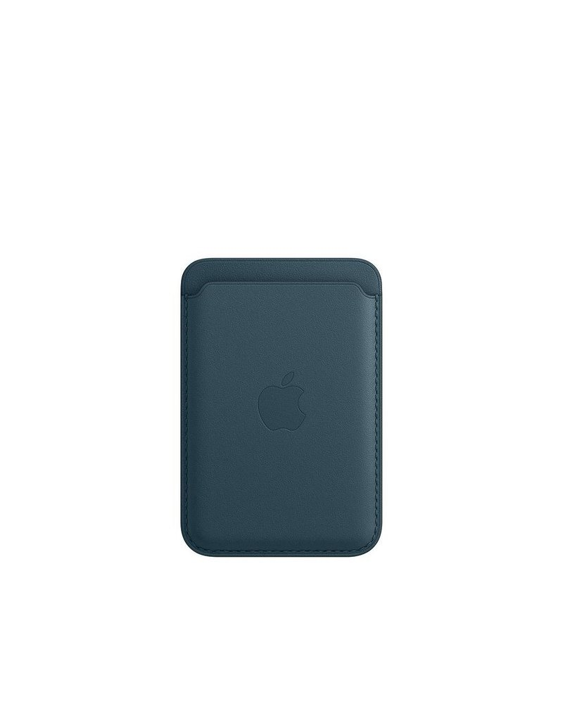 Apple Apple iPhone Leather Wallet with MagSafe - Baltic Blue