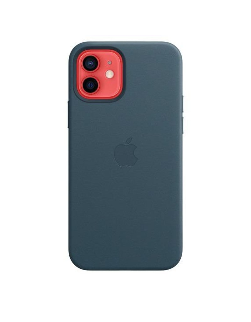 Apple Apple iPhone 12   12 Pro  Leather Case with MagSafe - Blue