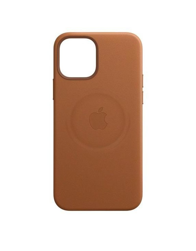 Apple Apple iPhone 12 | 12 Pro  Leather Case with MagSafe  - Saddle Brown