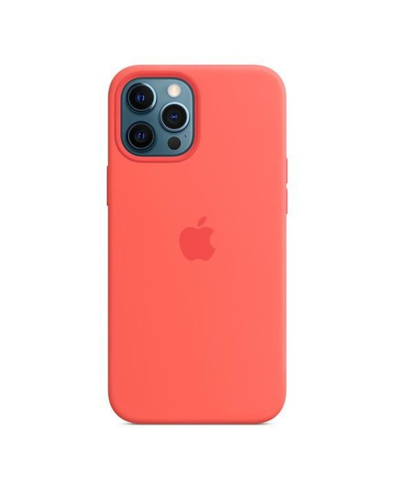 Apple Apple iPhone 12 Pro Max Silicone Case with MagSafe - Deep Navy