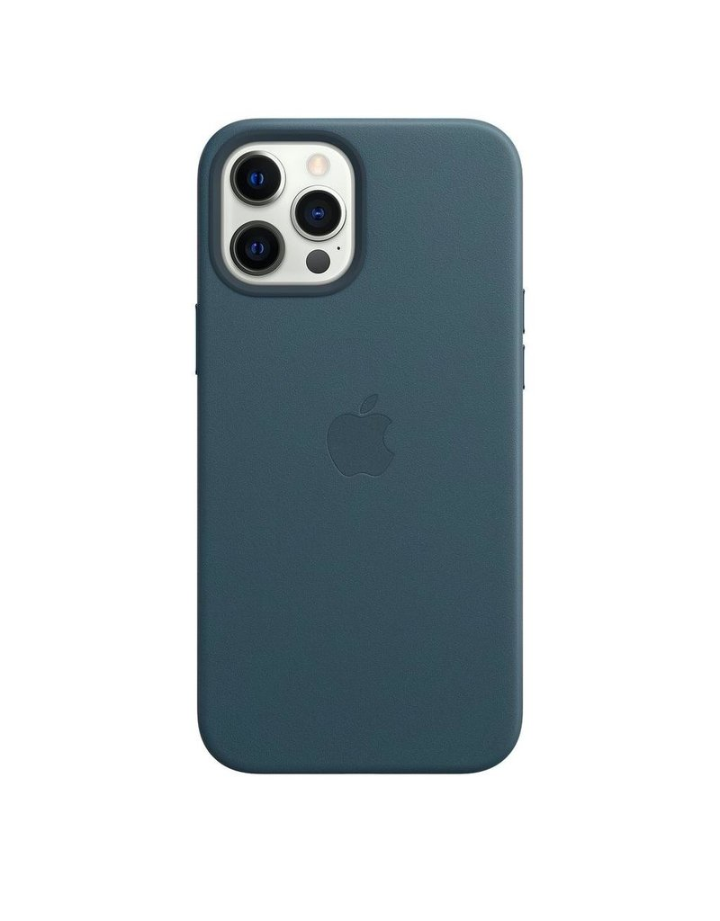 Apple Apple iPhone 12 Pro Max Leather Case with MagSafe - Blue