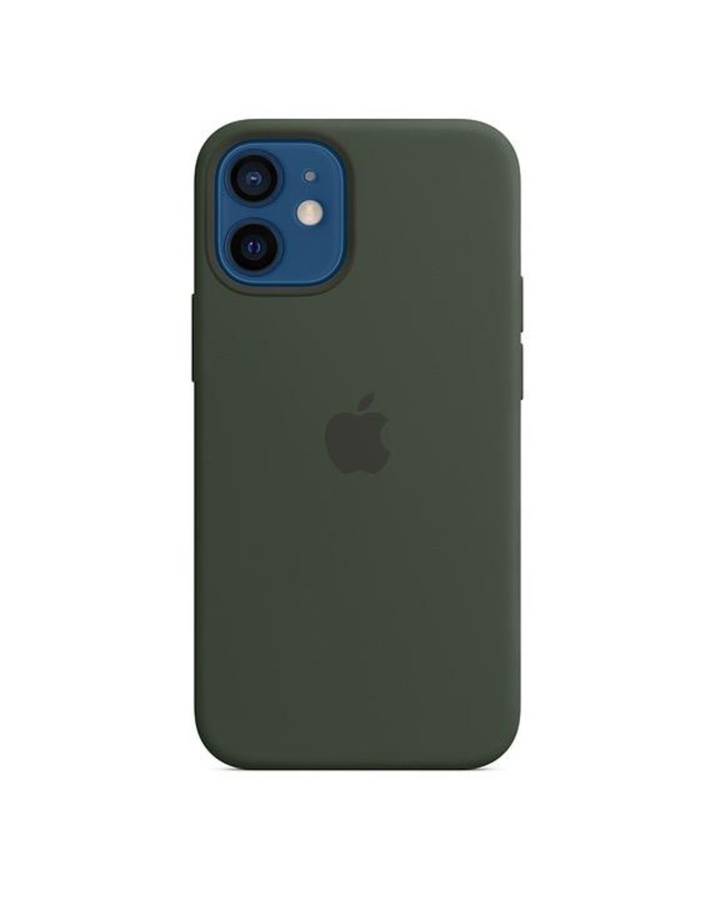 Apple Apple iPhone 12 Mini Silicone Case with MagSafe - Cyprus Green