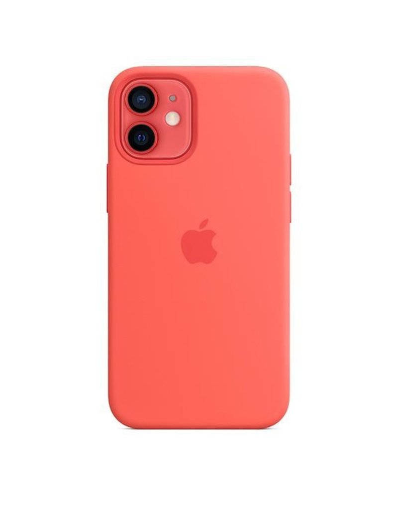 Apple Apple iPhone 12 Mini Silicone Case with MagSafe - Pink Citrus