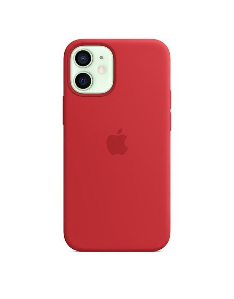 Apple Apple iPhone 12 Mini Silicone Case with MagSafe - (Product) Red