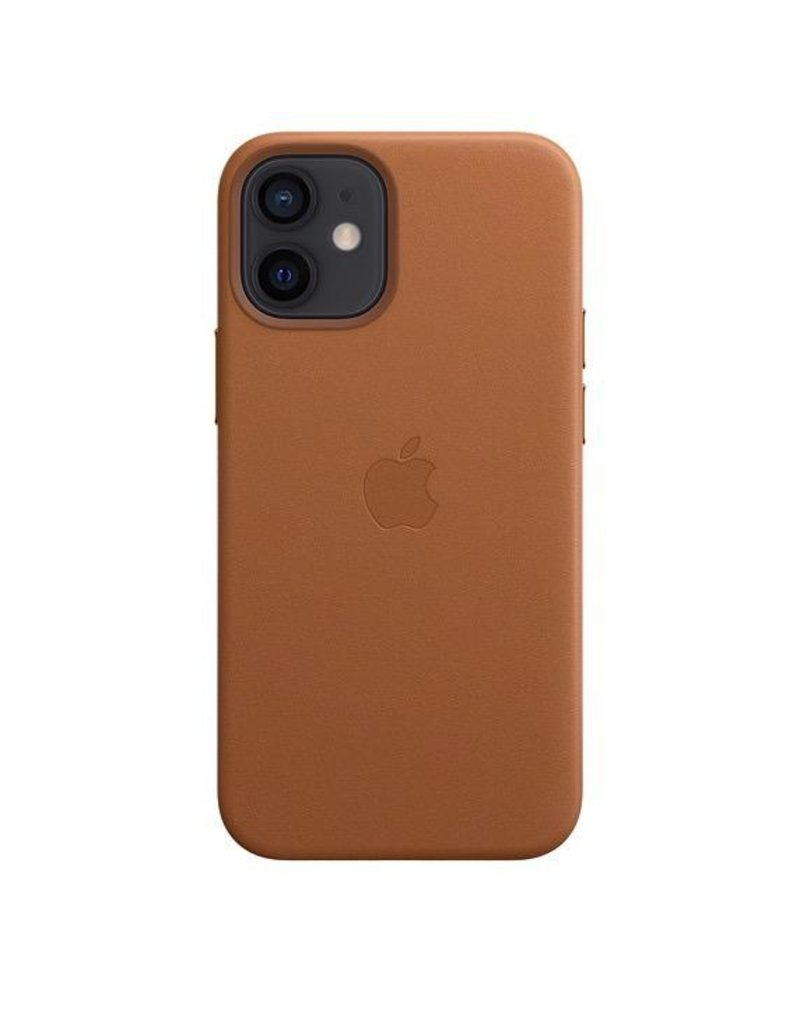 Apple Apple iPhone 12 Mini Leather Case with MagSafe - Saddle Brown