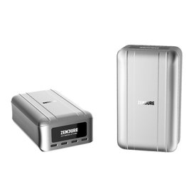 Zendure Zendure SuperTank Pro 100W Crush-Proof Power Bank Portable Charger with OLED Screen 26,800mAh - Silver