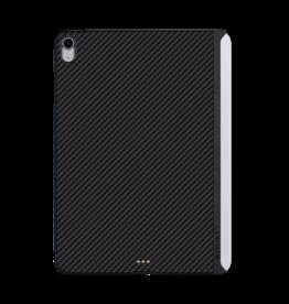 """Pitaka Pitaka Aramid Karbon Fiber MagEZ Case for iPad Air 10.9"""" / iPad Pro 11"""" 1st-Gen (fit Smart/MagicKeyboard) - Black/Blue Twill"""