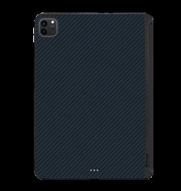 """Pitaka Pitaka Aramid Karbon Fiber MagEZ Case for iPad Pro 11"""" 2nd-Gen (fit Smart/MagicKeyboard) - Black/Blue Twill"""