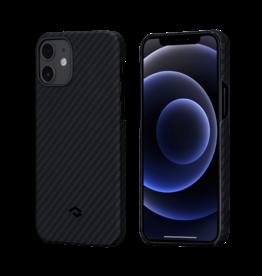 Pitaka Pitaka Aramid Karbon Fiber MagEz Case for iPhone 12 Mini - Black/Grey Twill