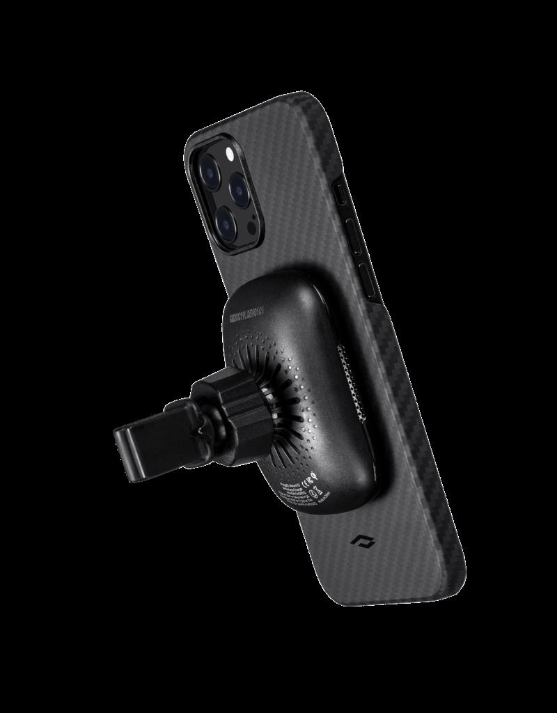 Pitaka Pitaka Aramid Karbon Fiber MagEz Case for iPhone 12 Pro Max - Black/Grey Twill