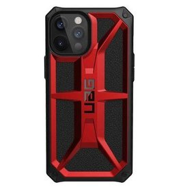 UAG Urban Armor Gear (UAG) Monarch Series Case for iPhone 12 Pro Max - Crimson