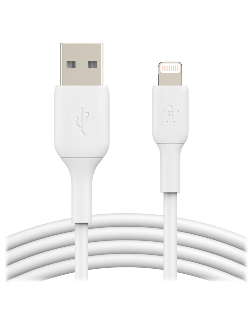 Belkin Belkin Boost Up Charge USB A to Apple lightning cable 10ft/3M - White