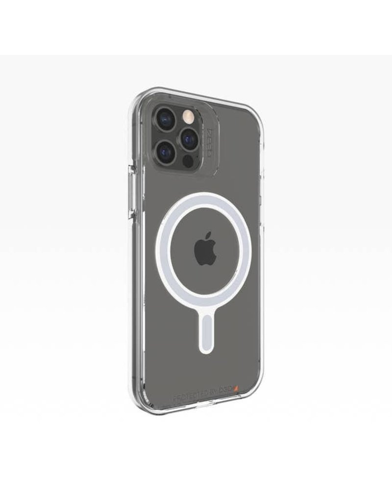 Gear4 Gear4 Crystal Palace Snap Case for Apple iPhone 12 Pro Max - Clear
