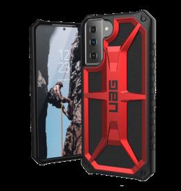 UAG UAG Monarch Case for Samsung Galaxy S21 Plus 5G - Crimson and Black