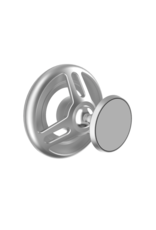 SwitchEasy SwitchEasy MagMount Car Mount for iPhone 12  3M Adhesive Type - Silver