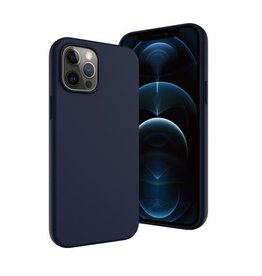 SwitchEasy SwitchEasy MagSkin Case for 2020 iPhone 12 / 12 Pro - Classic Blue