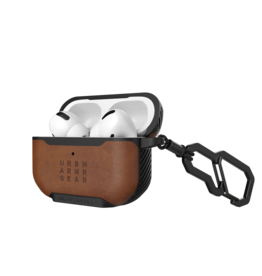 UAG UAG Metropolis Case for Apple AirPods Pro - Leather Armor Brown