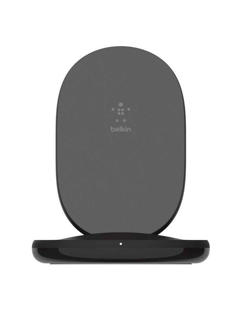 Belkin Belkin Boost Charge Wireless Charging Stand 15W and QC 3.0 Wall Charger 24W - Black