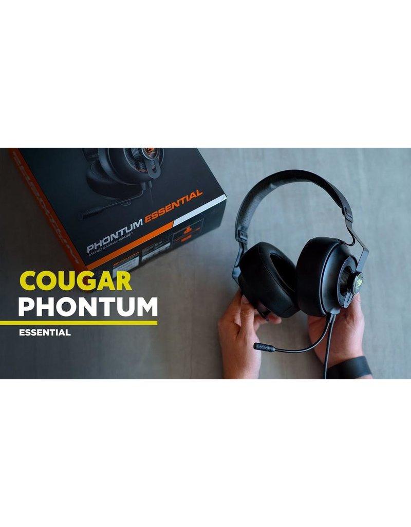 Cougar Cougar Phontum Essential Stereo Gaming Headset - Black