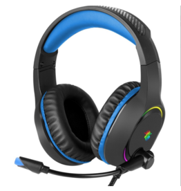 XCell Xcell Trigger Virtual Surround Dynamic RGB Pro Gaming Headset 7.1 -Black