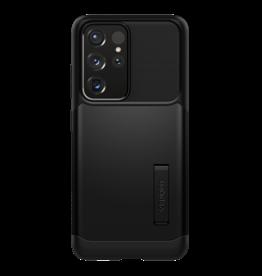 Spigen Spigen Slim Armor Case for Samsung Galaxy S21 Ultra 5G - Black