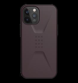 UAG UAG Civilian Series Case for iPhone 12 Pro Max - Eggplant