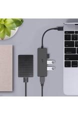 AUKEY Aukey Essential 4 Port USB - C Hub - Black