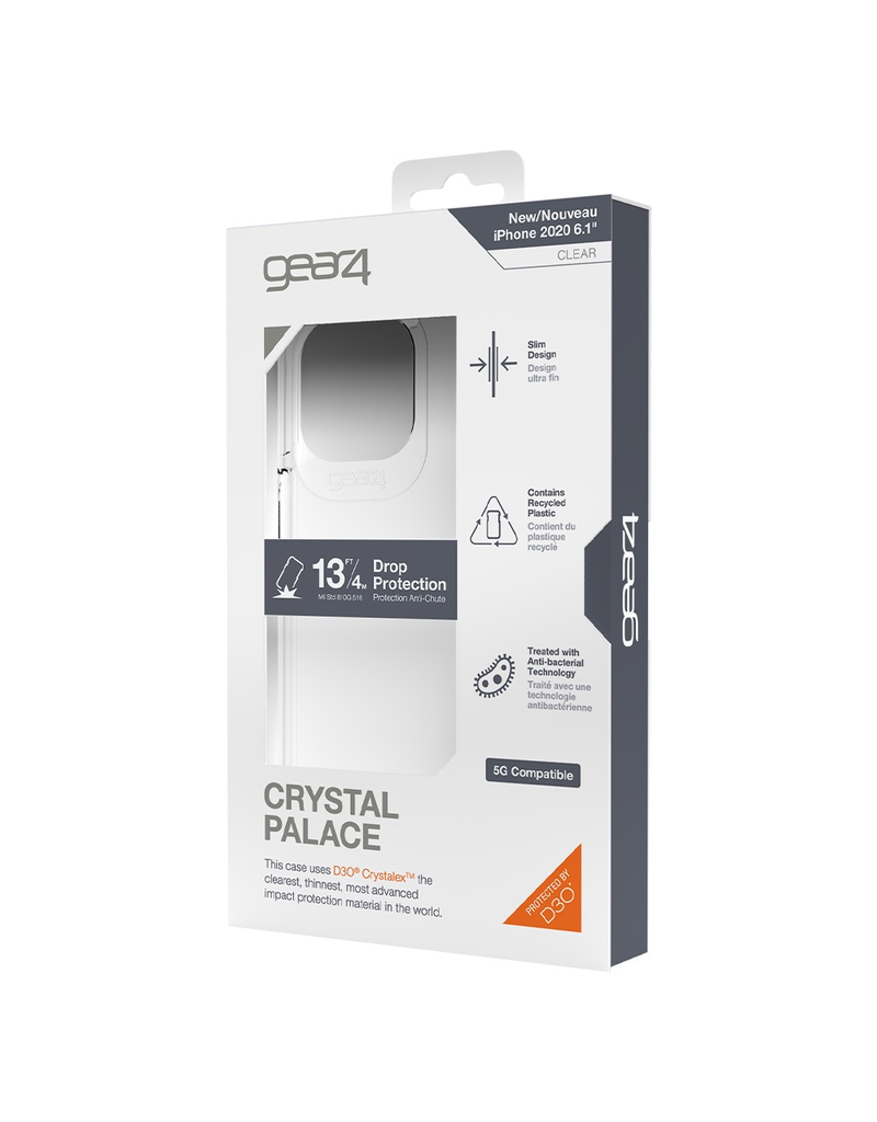 Gear4 Gear4 Crystal Palace Case for iPhone 12 / 12 Pro - Clear