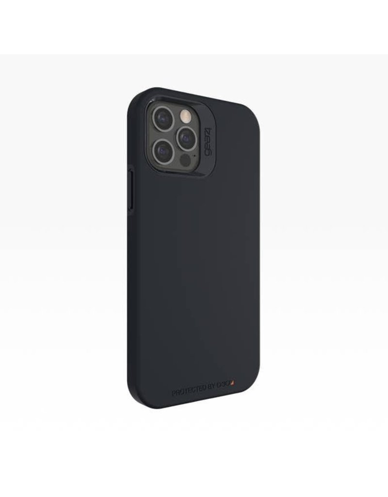 Gear4 Gear4 Rio Snap Case for Apple iPhone 12 Pro Max - Black