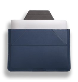 """Moft Moft Carry Sleeve/Stand for 13.3"""" Macbook Air and 14"""" laptops - Navy Blue"""