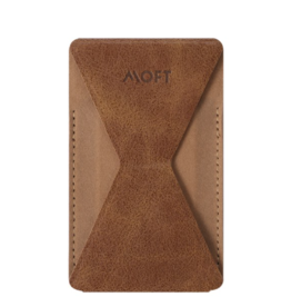 Moft Moft X Adhesive Phone Stand and Wallet With Magnetic  - Brown